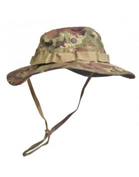 Cappello Jungle Militare Vegetato Italiano per Caccia Taglia S