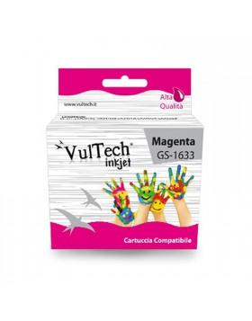 Cartuccia Compatibile Magenta Stampante Epson WORKFORCE WF2540WF WF2530WF T1633