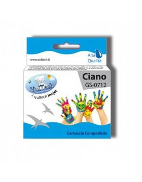 Cartuccia Compatibile Ciano per Stampante Epson Stylus SX110 SX210 DX4000 INKJET