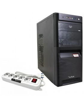 CASE CABINET ATX CON ALIMENTATORE 500 WATT USB 3.0 + CIABATTA MULTIPRESA 5 POSTI
