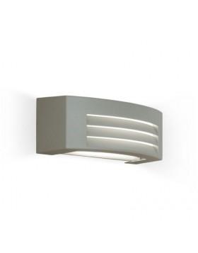 Plafoniera da Esterno Luce E27 Illuminazione Esterni Grigio Chiaro Moderna