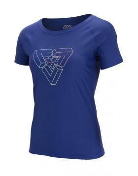 Maglia Maglietta Idropellente Blu per Sport Acquatici Protezione UV Taglia L