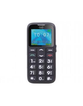 """Cellulare Nero con tasti grandi Chiamata Sos Torcia Display Lcd a colori 1,77"""""""