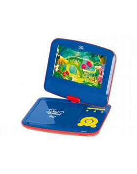 Lettore dvd per bambini Risoluzione 800x480dpi Display lcd con rotazione di 180°