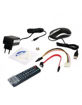 Dvr 4 Canali H264 HD per Videosorveglianza VGA HDMI Collegamento Iphone Android