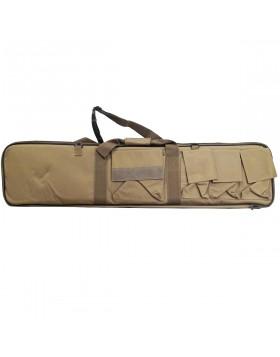 Custodia Borsa Porta Fucile Carrabina Tan Militare 107 cm