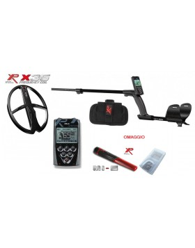 "Metal Detector Xp Deus Lite Rc Telecomando Piastra 11"" X35 Promo Pinpointer MI-6"