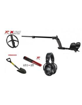 """Xp Metal Detector Xplorer Deus Light WS5 Piastra x35 11"""" Promo Pinpointer MI-6"""