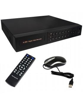 Dvr 4 Canali H264 720P AHD HD per Videosorveglianza VGA HDMI Collegamento Iphone