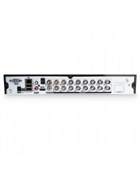 Dvr 16 Ch Canali Videosorveglianza H264 HD HDMI Telecamera AHD LIFE Lan P2P Qr Code