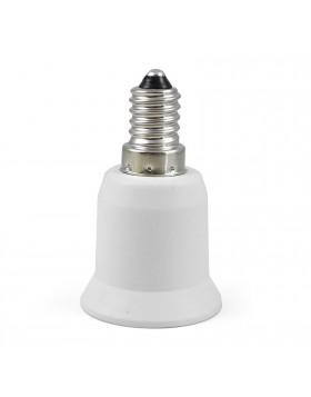 Adattatore Convertitore per Lampadina Convertitore Lampade Attacco E14 E27 LIFE