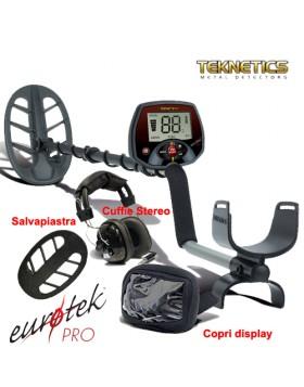 Metal Detector Teknetics EuroTek Pro Plus 11'' DD Cercametalli Oro Gioielli