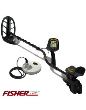 METALDETECTOR FISHER F75 F 75 LTD CON 2 PIASTRE 11'' 5'' DD CERCAMETALLI 13 KHZ