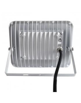Faro Faretto LED Luce Naturale Slim da Esterno 30W Watt Bianco
