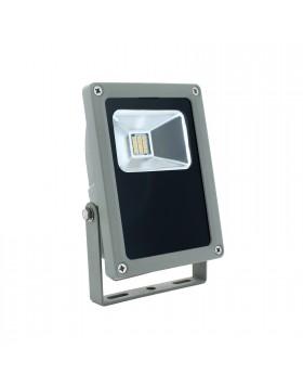 Faro Faretto Led 10w 10 Watt per Esterno Luce Bianca Naturale Slim IP65 LIGHT