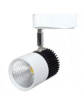 Faretto Spot Orientabile LED Cob 10 Watt Lampada Luce Bianca Calda