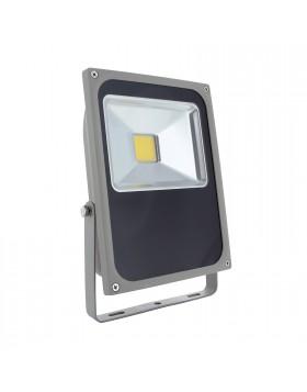 Faro Faretto Led 50w da Esterno Luce Bianca Naturale Slim Proiettore IP65 LIGHT