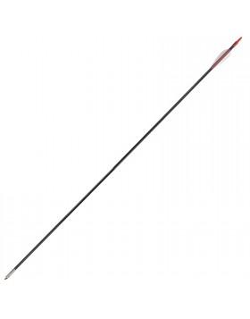5 Pz Frecce Freccia per Arco Tiro A Bersaglio Archi 32 Pollici 6mm Punta