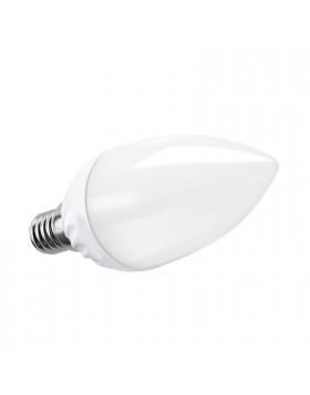 Lampada Lampadina Attacco E14 LED SMD V-TAC Candela Luce Bianca Naturale 4 Watt