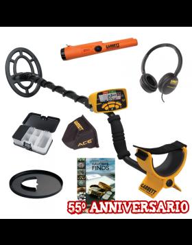 Garrett Ace 300i Pro Pointer AT Libro Box Promo 55° Anniversario Metal Detector