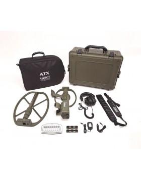 Metal Detector Garrett ATX Deepseeker Package Garanzia Italia 2 Piastre Oro