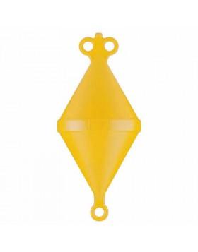Gavitello boa attracco strumenti imbarcazioni barche mare 500 mm giallo