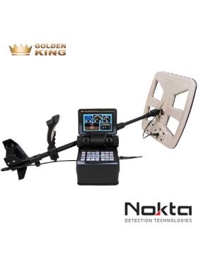 Nokta Golden King NRG 3D Metal Detector Cercametalli Garanzia Italia 2 Anni