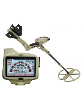 GROUND EFX MX 300 GPS METAL DETECTOR 11'' DD CERCA ORO MONETE METALDETECTOR