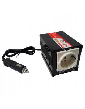 Power Inverter Trasformatore Convertitore Tensione DC AC 12 220 V LIFE Auto 150W