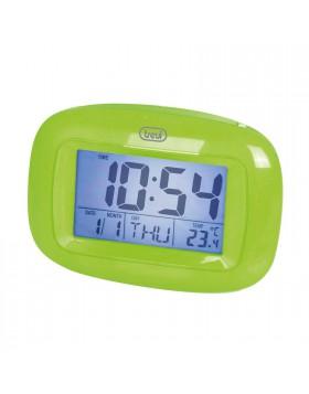 Sveglia verde Cameretta Casa Temperatura Allarme Termometro Calendario Comodino
