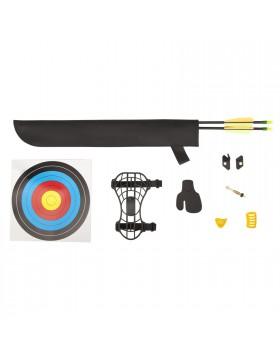 Kit Arco Compound 10 Libbre + 2 Frecce + Battifreccia + Faretra + Bersaglio
