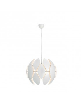 Lampada a Sospensione Design Bianca Philips MyLiving Chiffon 60 cm