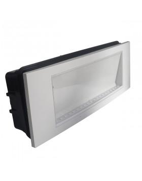 Lampada Emergenza Led da Incasso V-tac VT-511 3,8W Luce Fredda