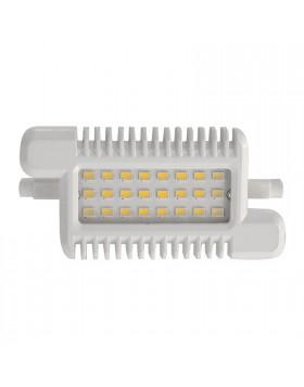 Lampada Faro Faretto Lampadina R7s 24 LED 10 Watt LIFE Luce Bianca Calda 3000 K