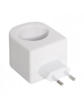 Torcia a led batterie lampada bianca ricaricabile portatile luce camper sos