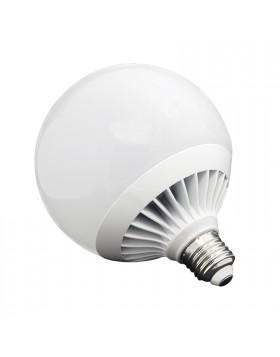 3 PZ LAMPADE LAMPADA LAMPADINA A LED LUCE FREDDA A GLOBO ATTACCO E27 15 W LIFE