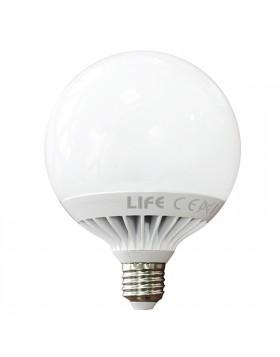 Lampada a Led Lampadina Luce Bianca Fredda Attacco E27 LIFE 20 Watt 2000 LUMEN