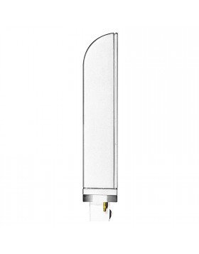 Lampadina Lampada LED SMD Luce Bianca Fredda 6500K 12 W G24D Life Basso Consumo