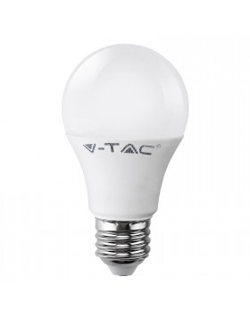 Lampada Lampadina Attacco E27 LED SMD V-TAC Bulb A60 Luce Bianca Calda 5 Watt