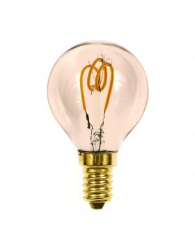 Lampada LED a Filamento E14 P45 2,5W Luce Calda Soft Vintage Life