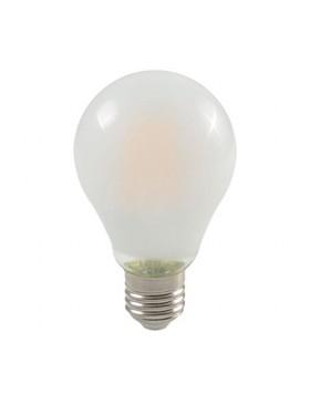 Lampada Led Bulbo Attacco E27 Vetro Satinato 1000 Lm Lifetime 25000H Potenza 8W