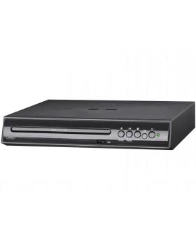 Lettore DVD piccolo nero Trevi ingresso Usb uscita scart video composito/RGB