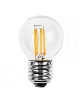 Lampadina Lampada LED Filamento Vintage Attacco E27 Luce Calda LIGHT 4W 4 Watt