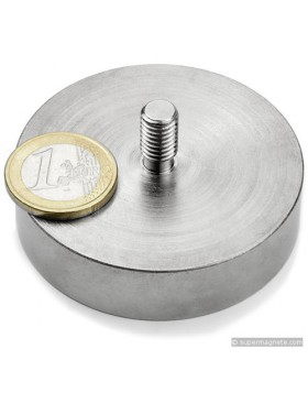 Magnete Calamita G-gtn 60 Forza Attrazione 130 Kg Metal Detector
