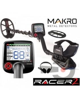 Makro Racer 2 II Metal Detector 5 Regolazioni Cuffie Copripiastra Metaldetector