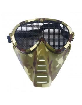 Maschera di Protezione Facciale Vegetata Occhiale con Rete Vegetato Italiano