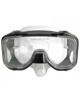 Maschera Subacquea Sub Silicone Nera Trasparente SCUBAPRO Avalon Nuoto Apnea
