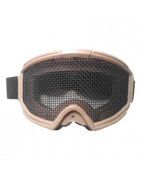 Maschera di Protezione Protettiva Facciale Copri Viso TAN ABS Js-Tatical Softair