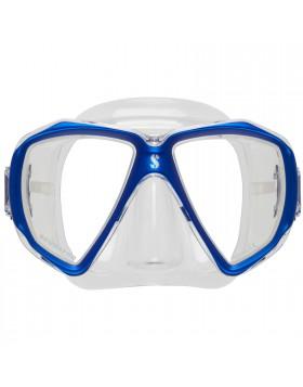 Maschera Sub Subacquea Silicone Trasparente Blu SCUBAPRO SPECTRA Mare Snorkeling