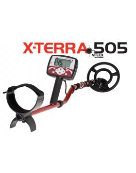 X-Terra 505 Minelab Metaldetector Piastra 9 Concentrica Media Frequenza 9,75 kHz